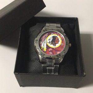 🔴 New Washington Redskins Watch With Box